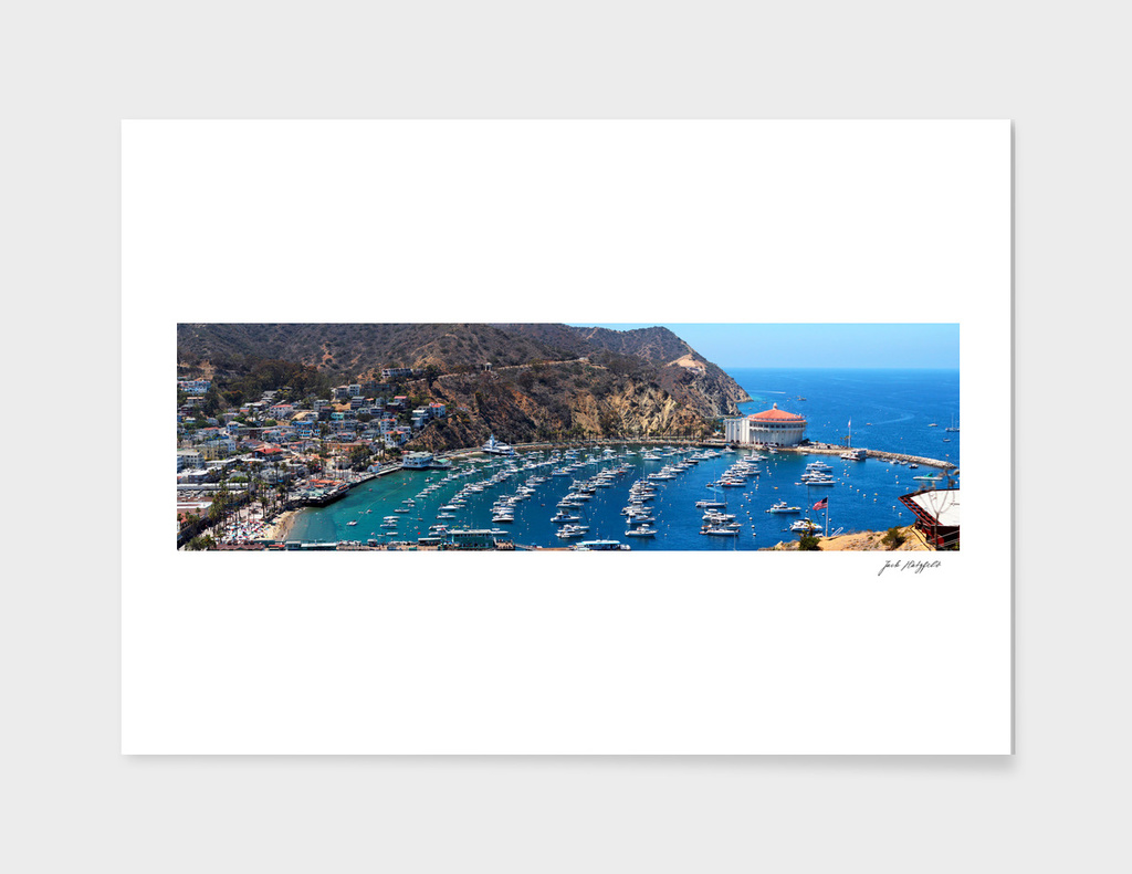 Catalina Island Panorama