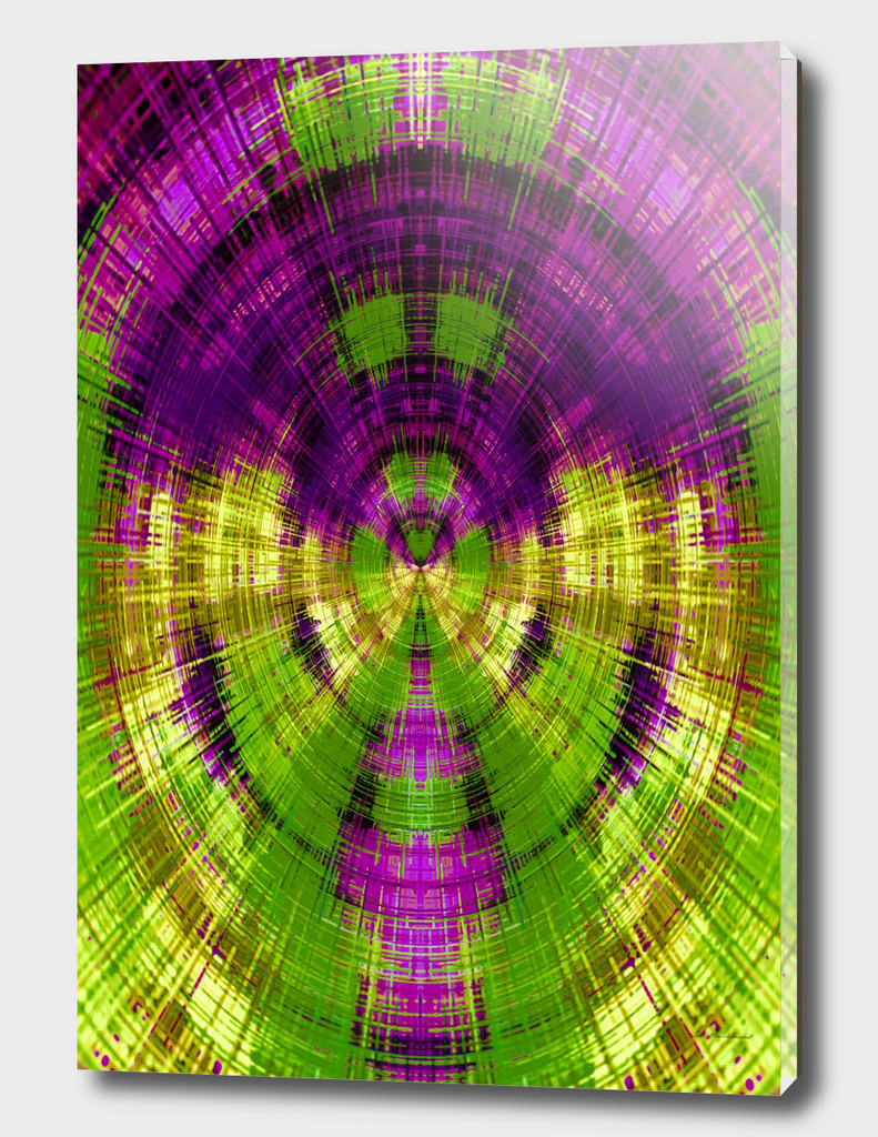 purple and green circle plaid pattern texture