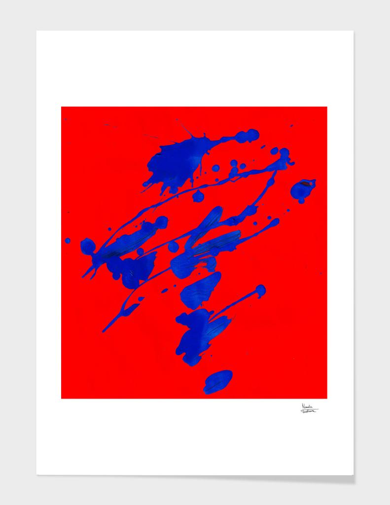 Blue whirlwind
