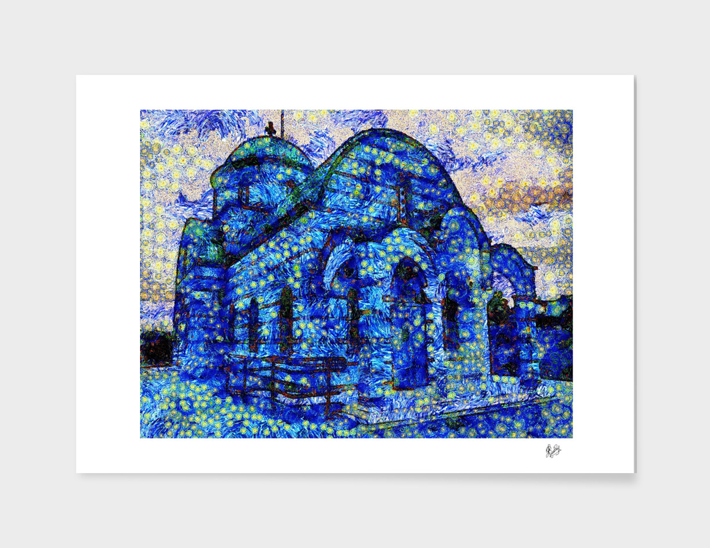 VAN GOGH - CALIA - GREEK CHURCH NO. 2