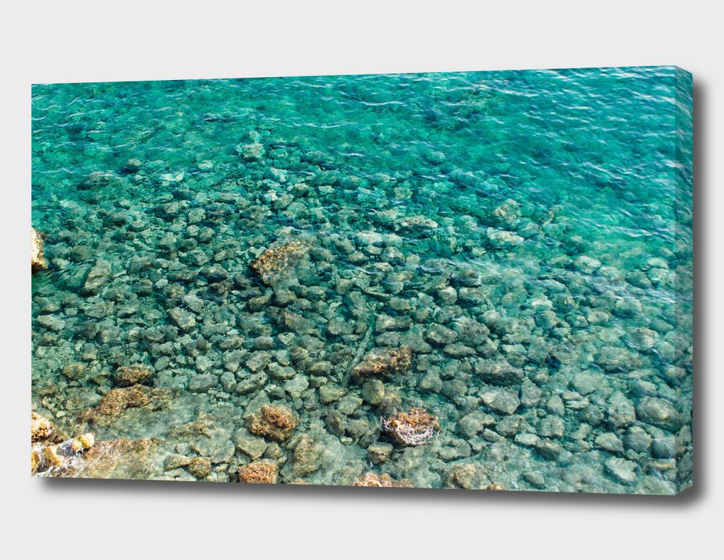 Where ocean kisses the shore