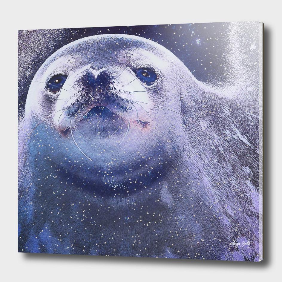 Space Fur seal