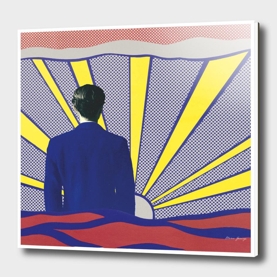 magritte vs lichtenstein