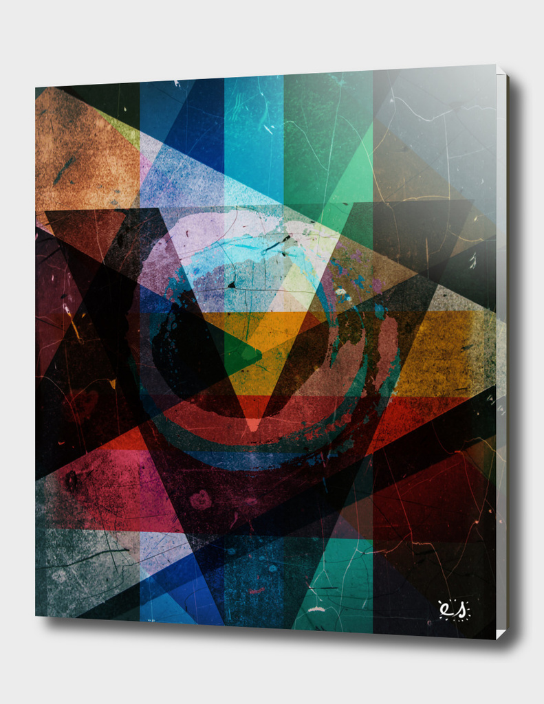 Digital Abstract Composition