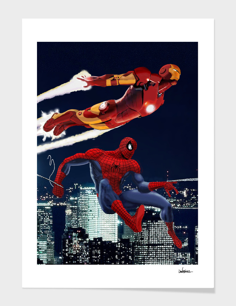 Marvel: Spider-Man and Iron Man