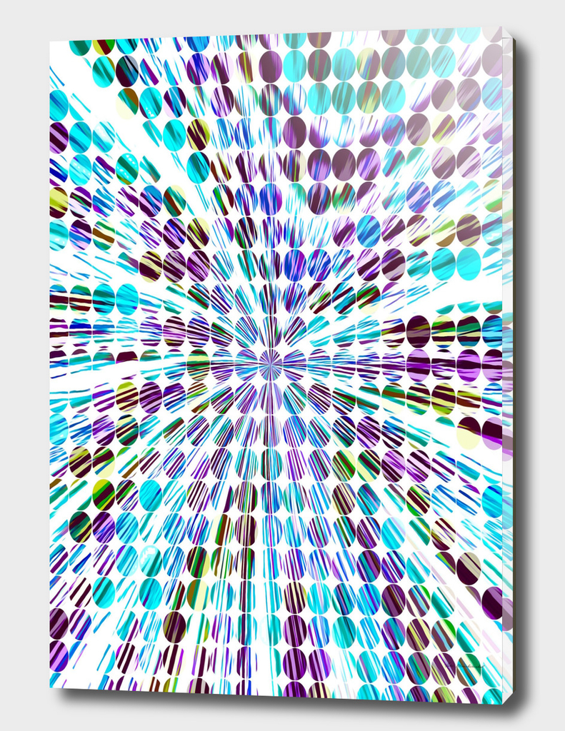 blue and purple circle pattern abstract background