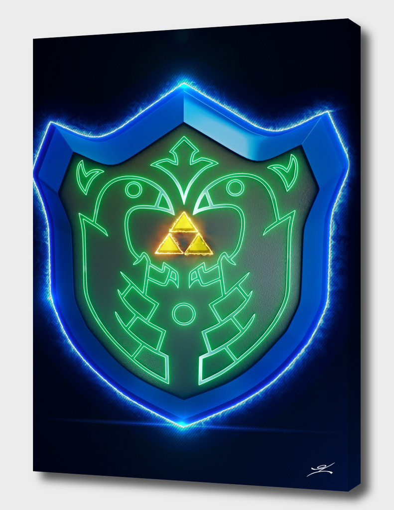 3D Link Mirror Shield