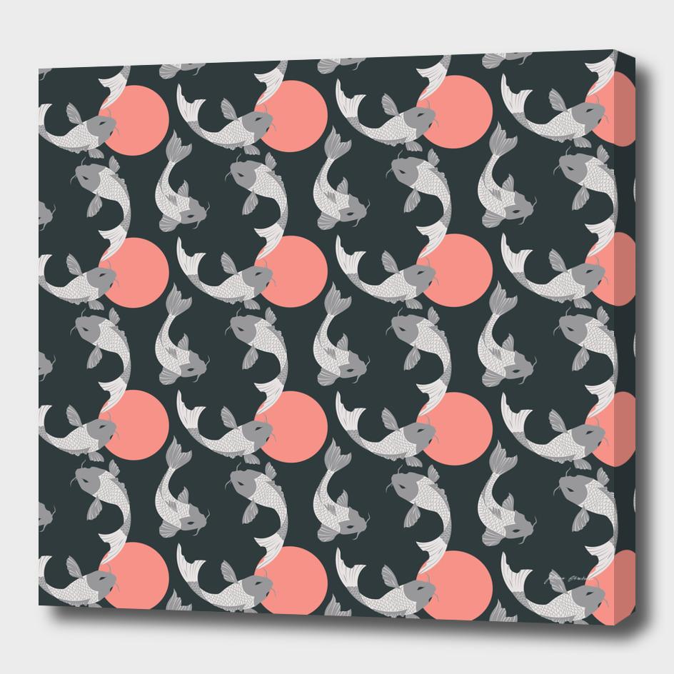 Koi fish pattern 001