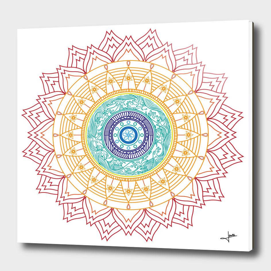 Mandala Waves