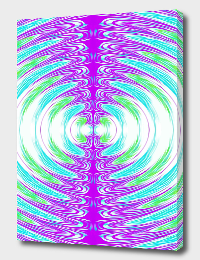 purple green and blue circle pattern abstract background
