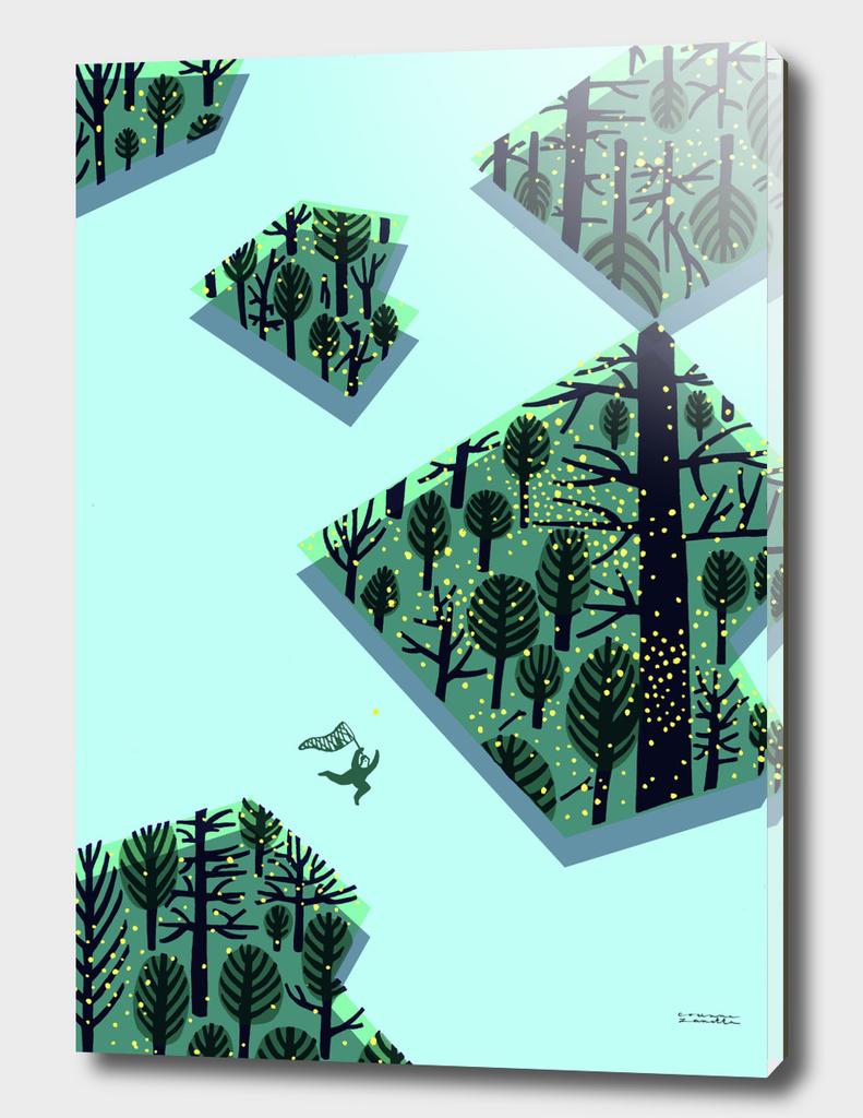 Chasing fireflies / A caccia di lucciole