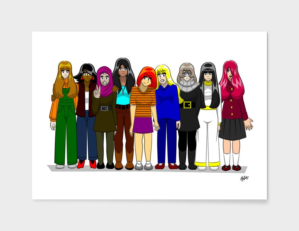 9 Girls