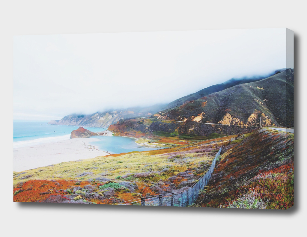 Beautiful landscape at Big Sur, California, USA