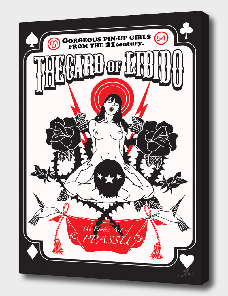 The card of Libido front design