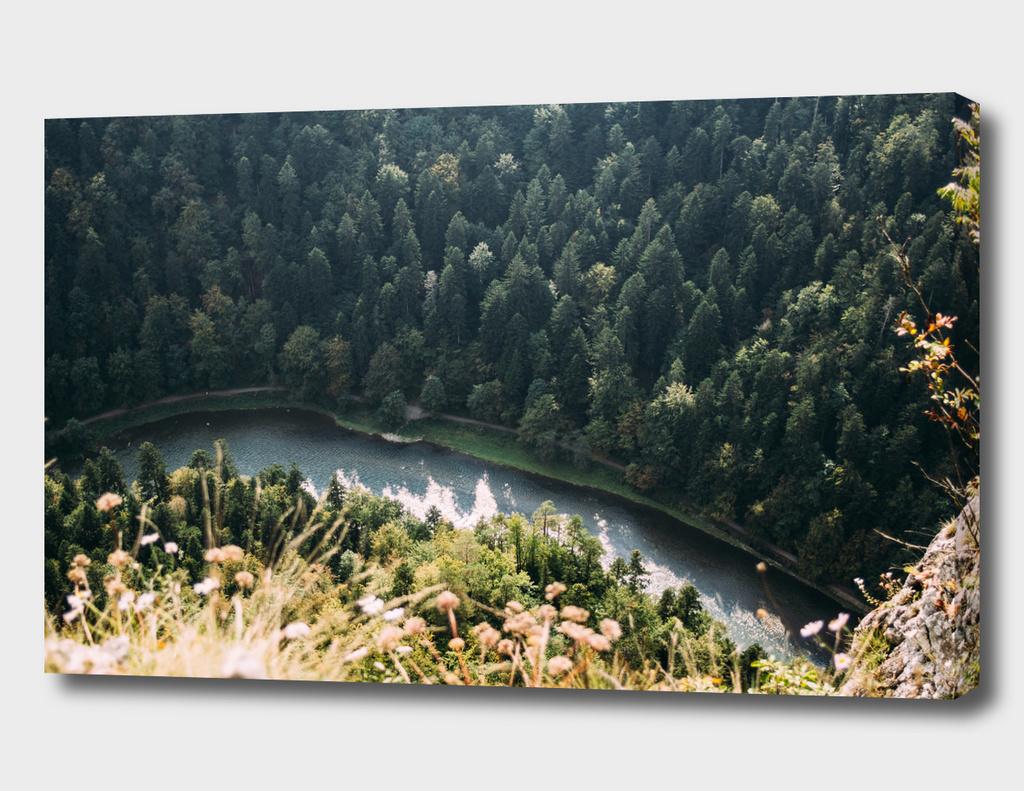 Aerial River