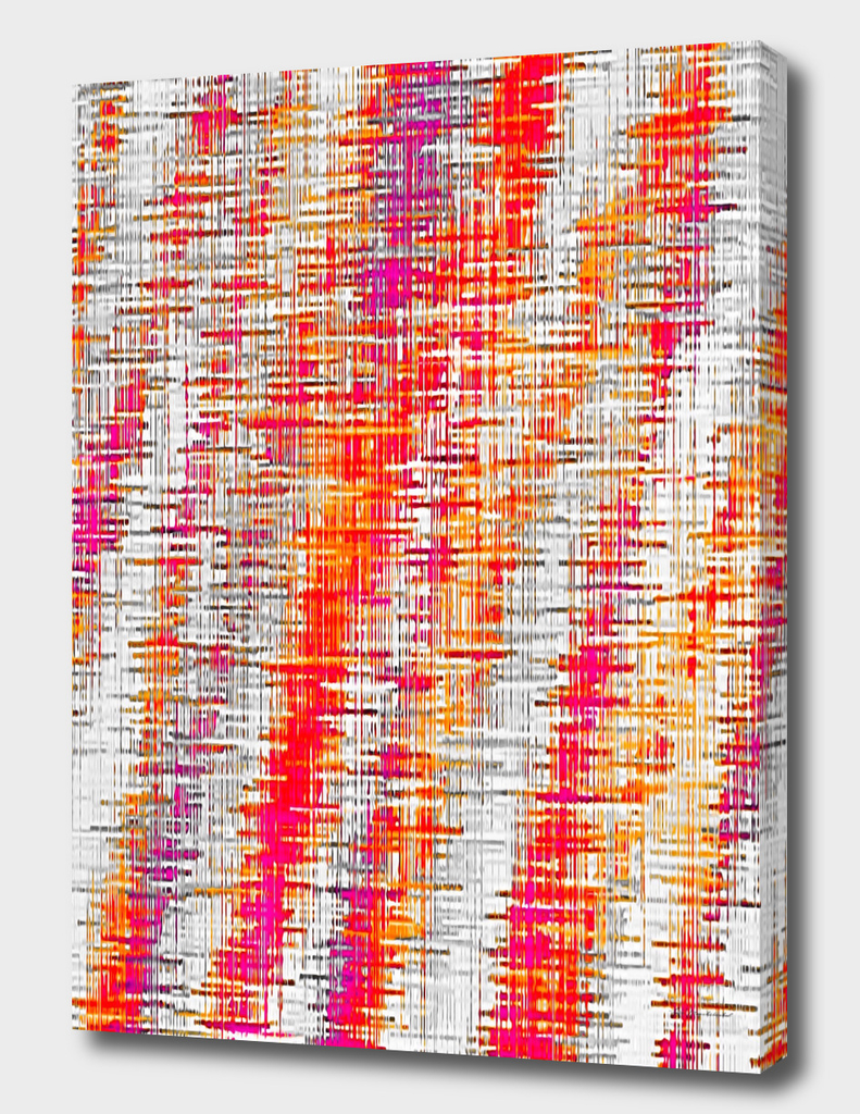 orange red and pink vintage painting texture abstract