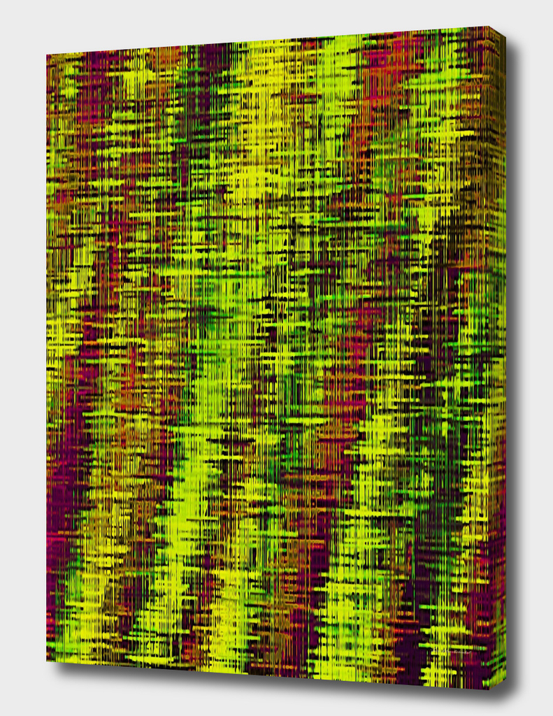 yellow green brown vintage painting texture abstract