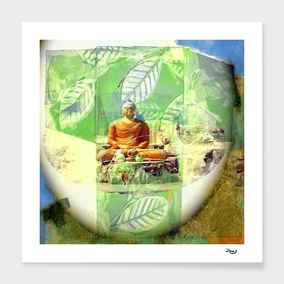 FULL MOON BUDDHA