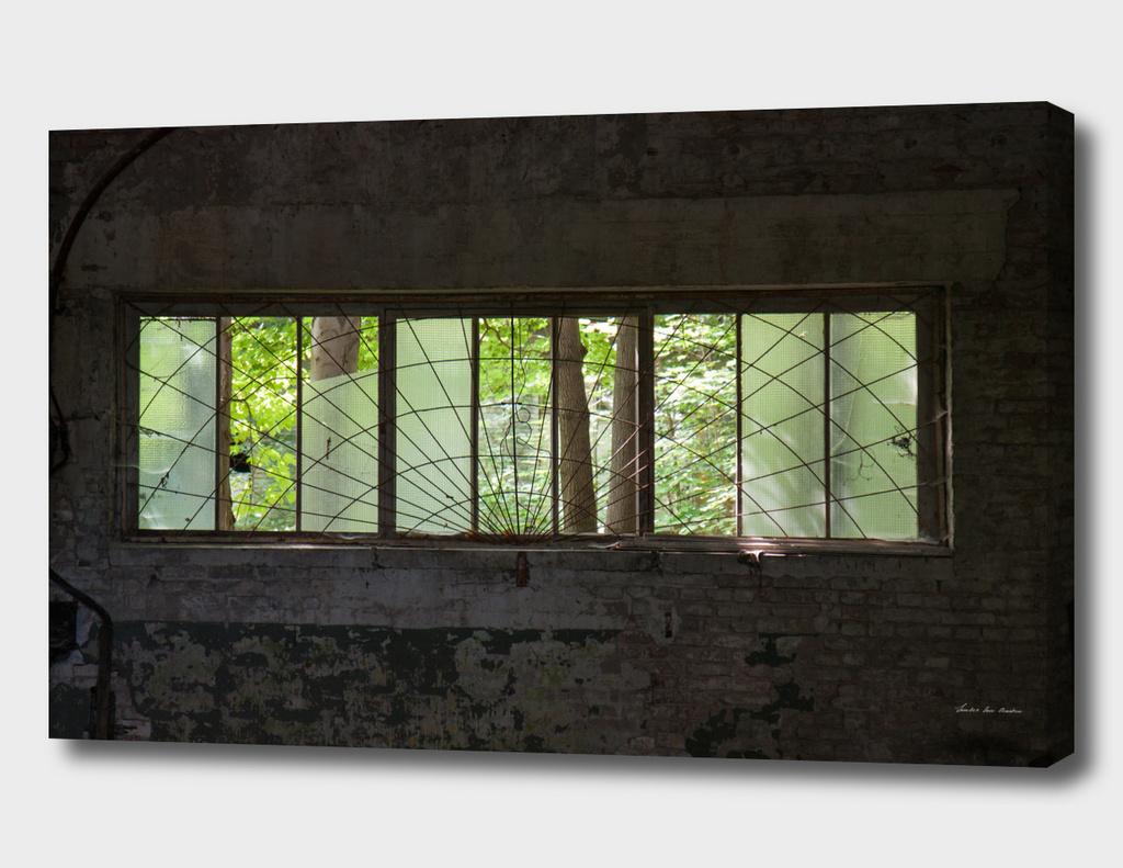 Berlin abandoned, window
