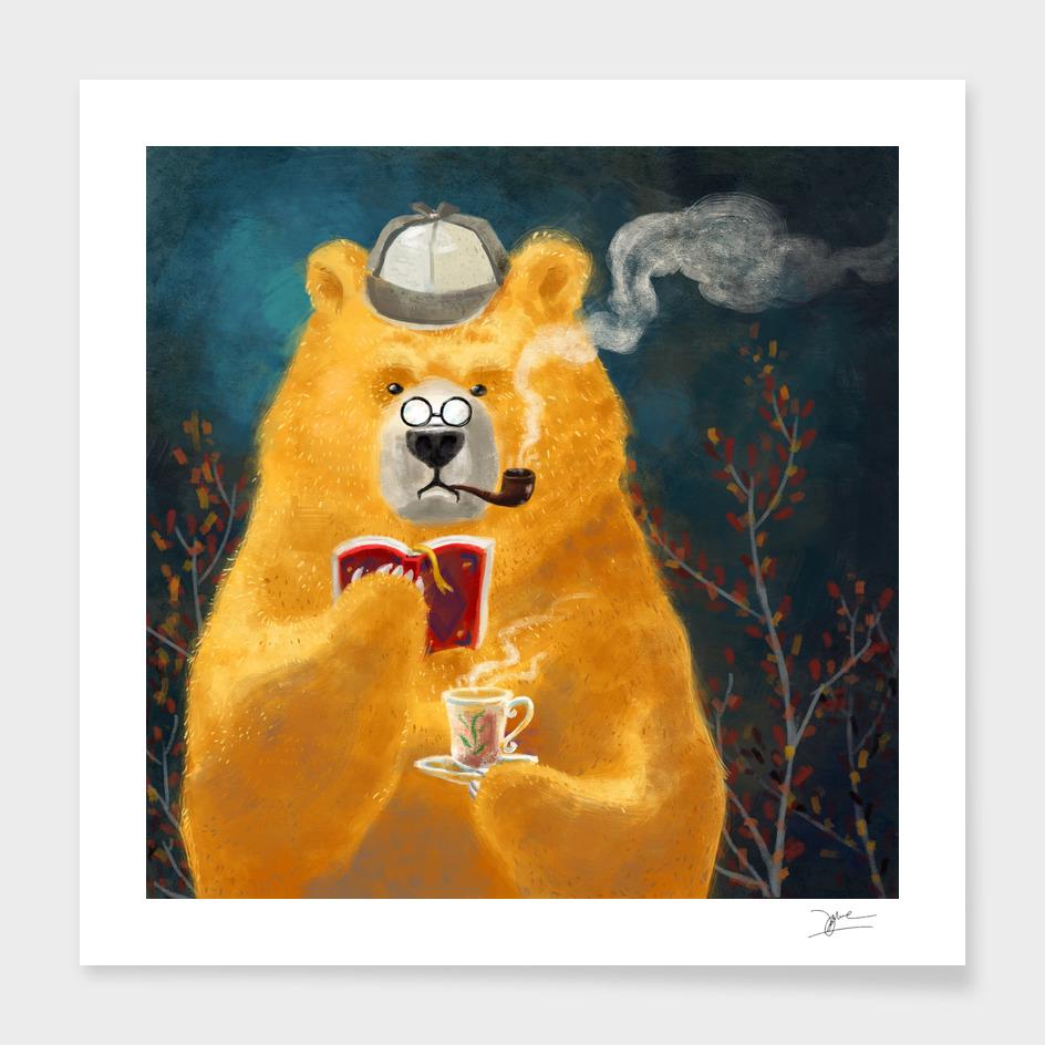 tea time of bear