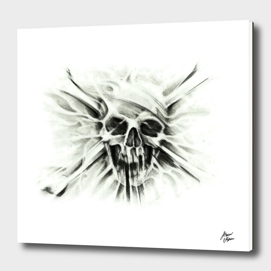 I Love Skulls Pirate Version