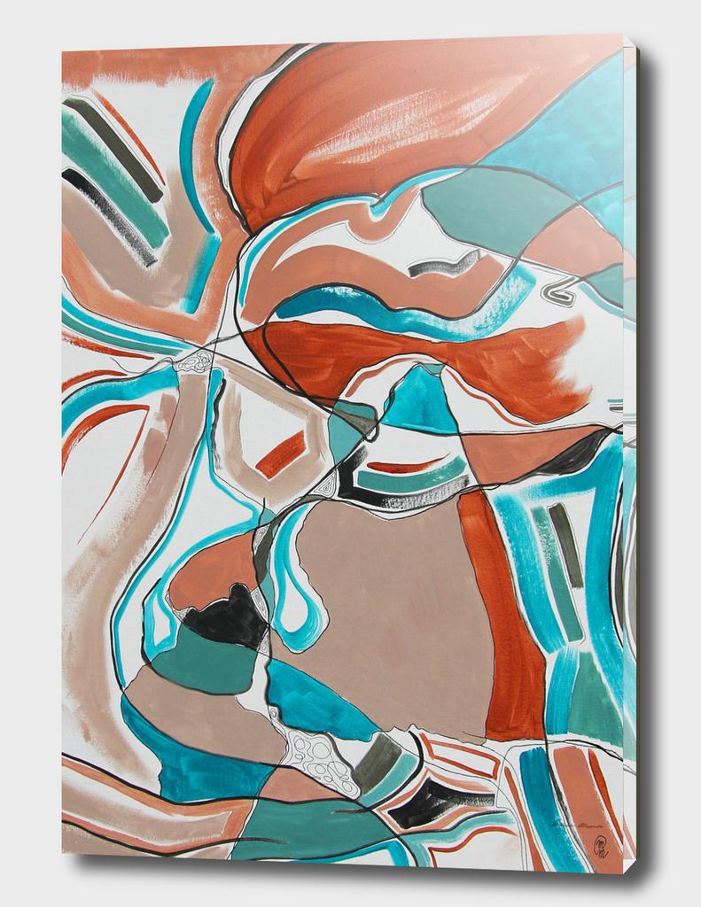 CubismeTurquoise