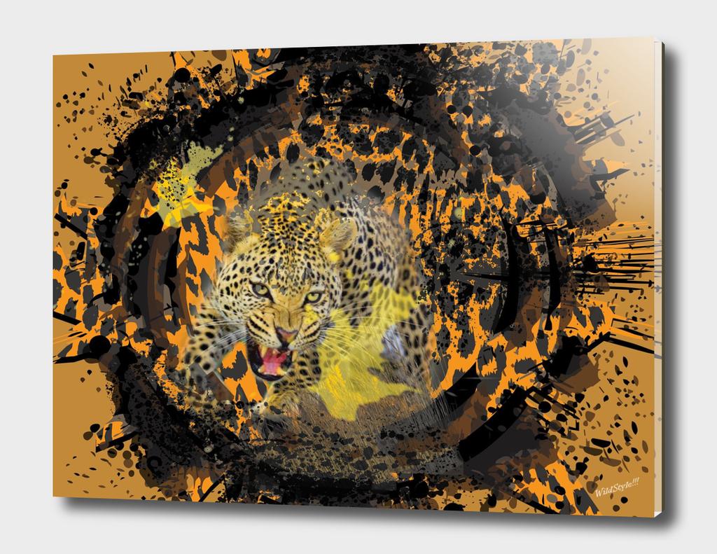 Leopard 3D Digital Design