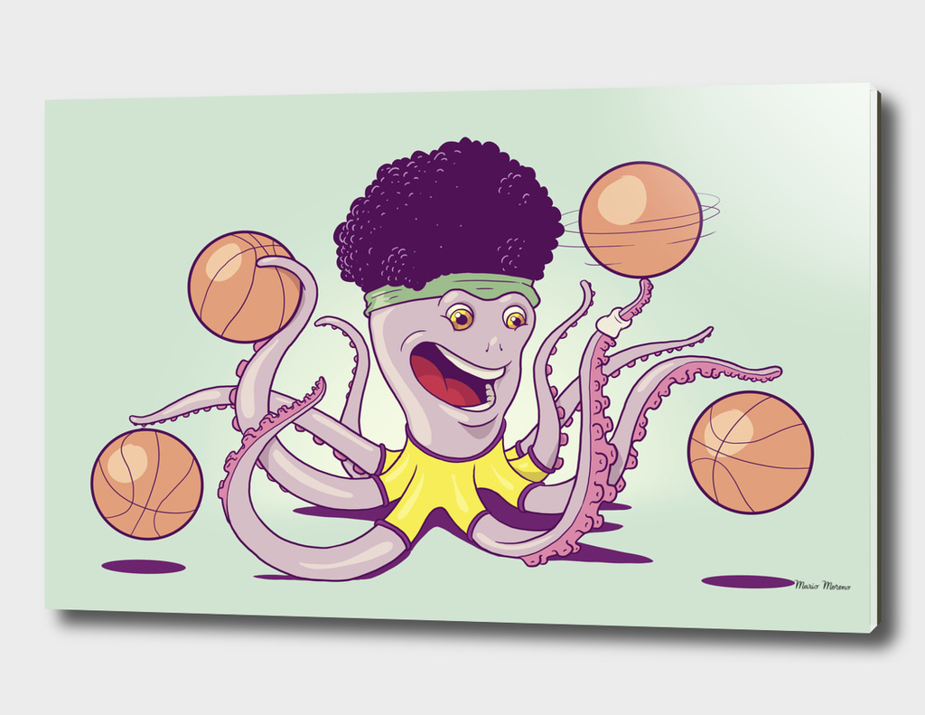Basketball Octopus