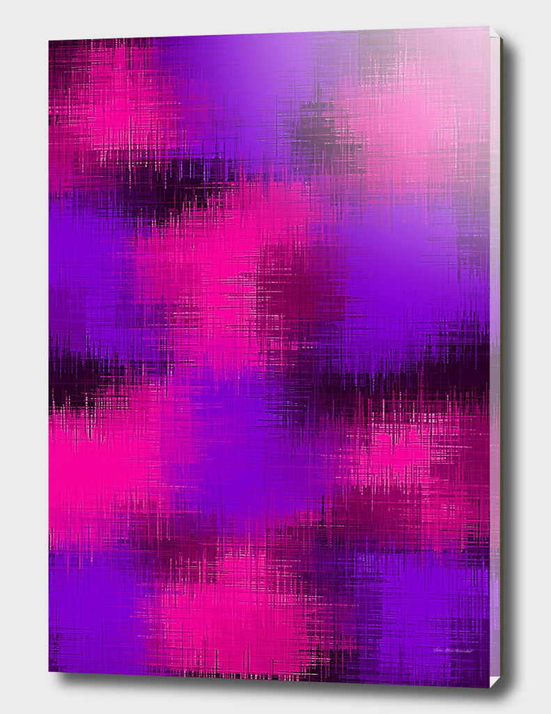 psychedelic painting abstract texture in pink purple black