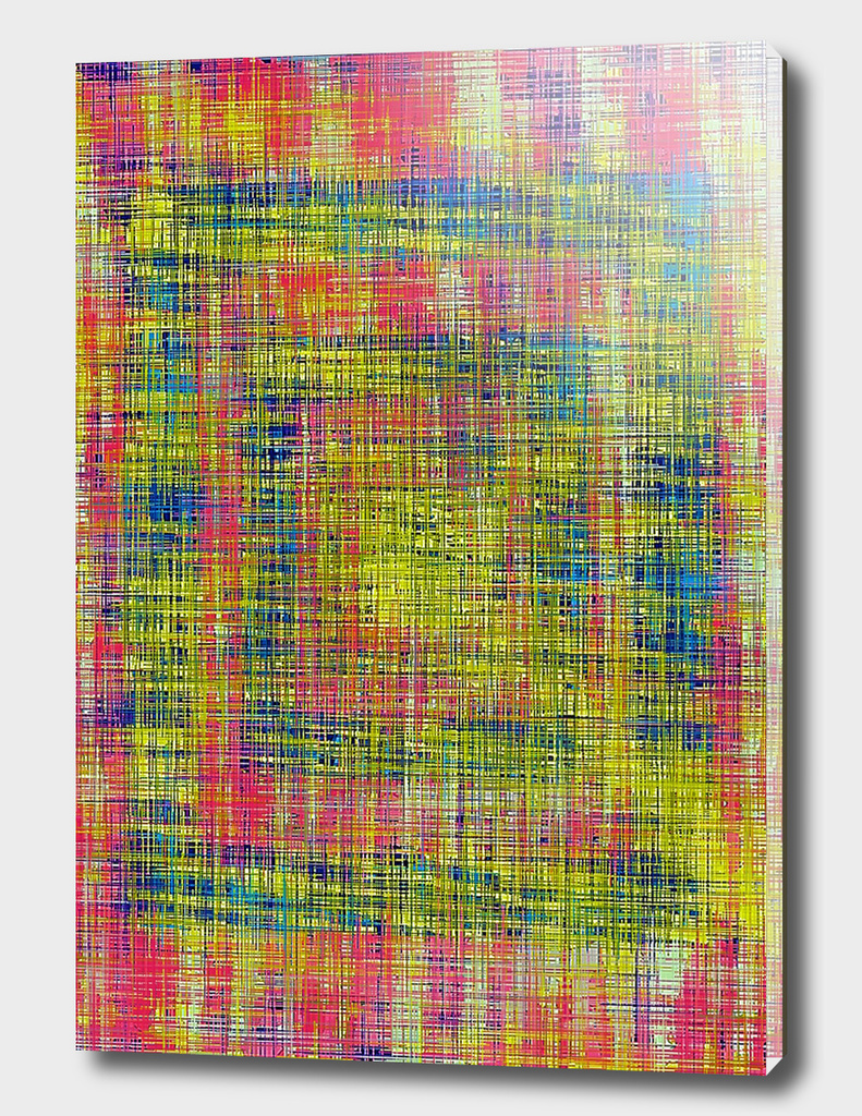 vintage grunge painting texture abstract in red yellow blue