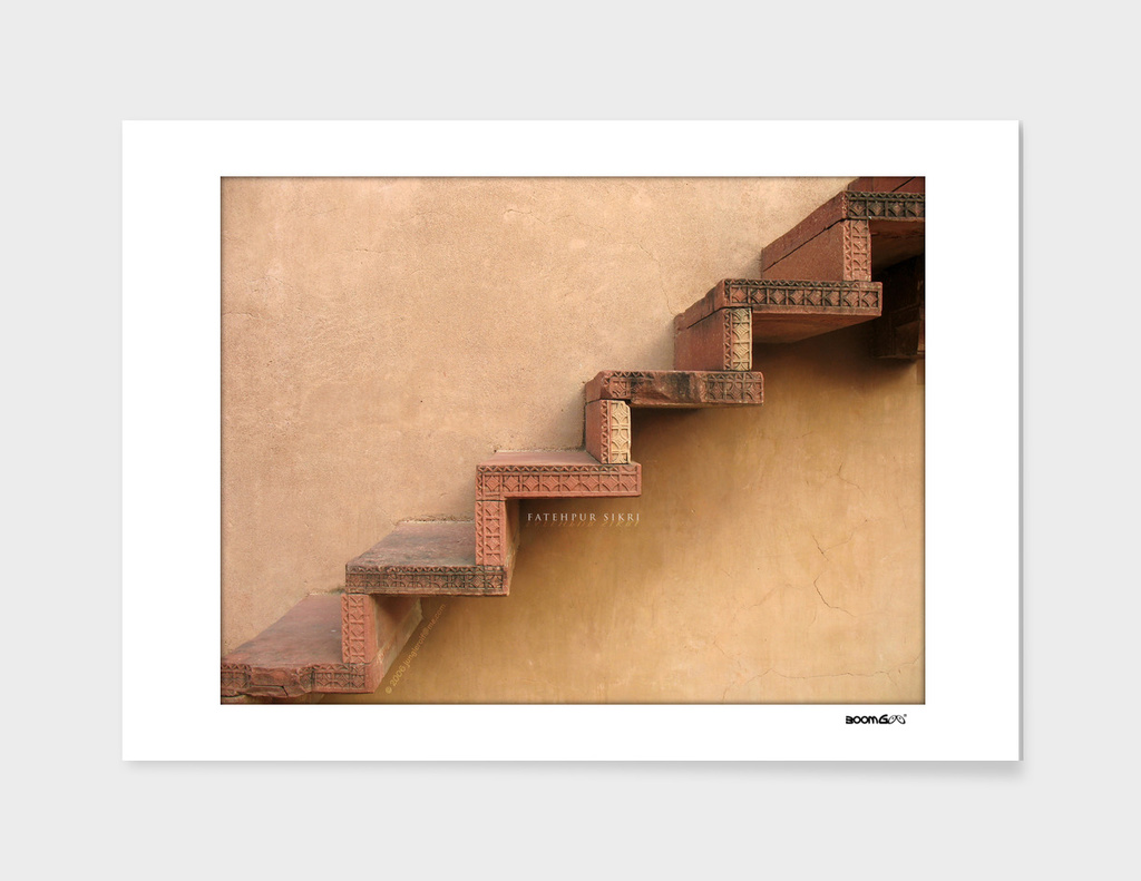 BoomGoo's Fatehpur Sikri stairs (smooth)