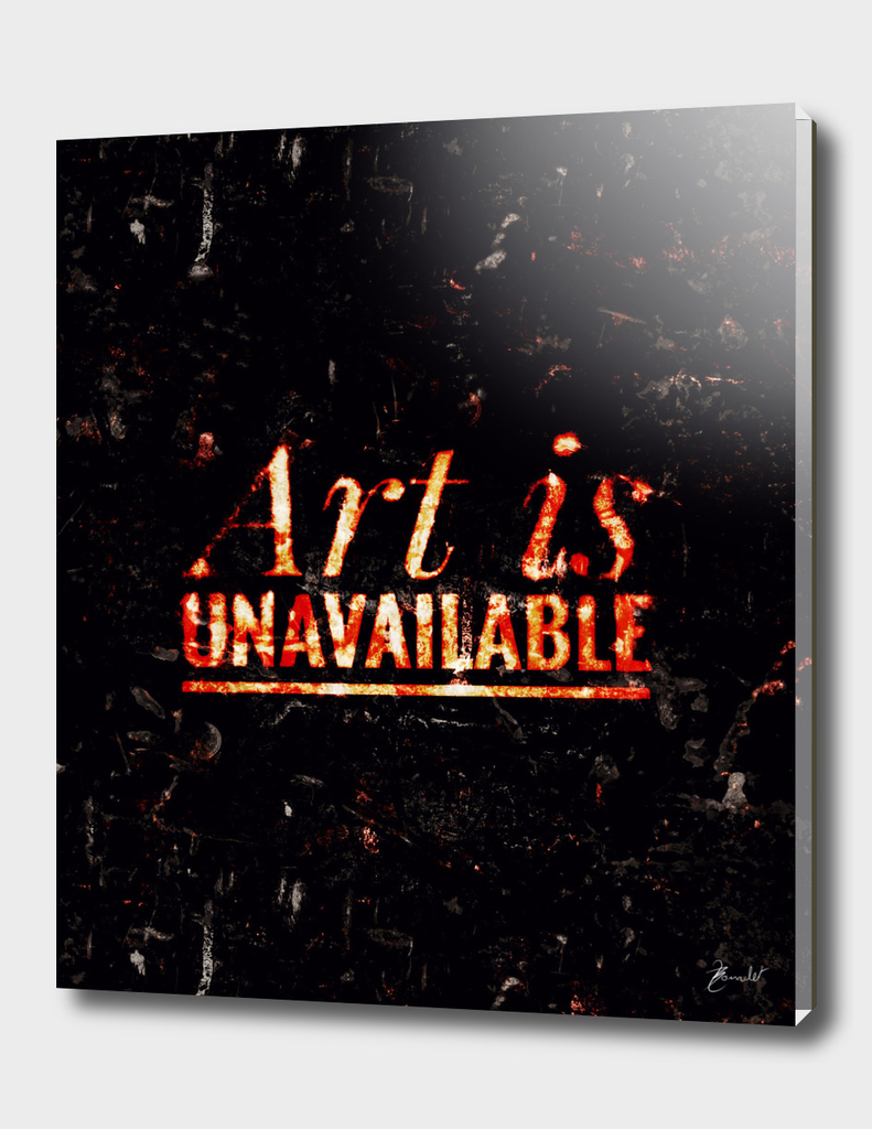 Art is unavailable