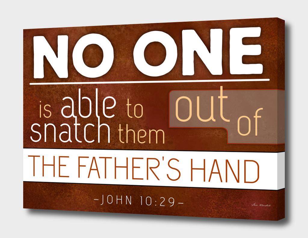 JOHN 10-29