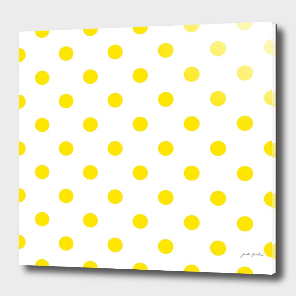 Fresh yellow dots : New art in shop