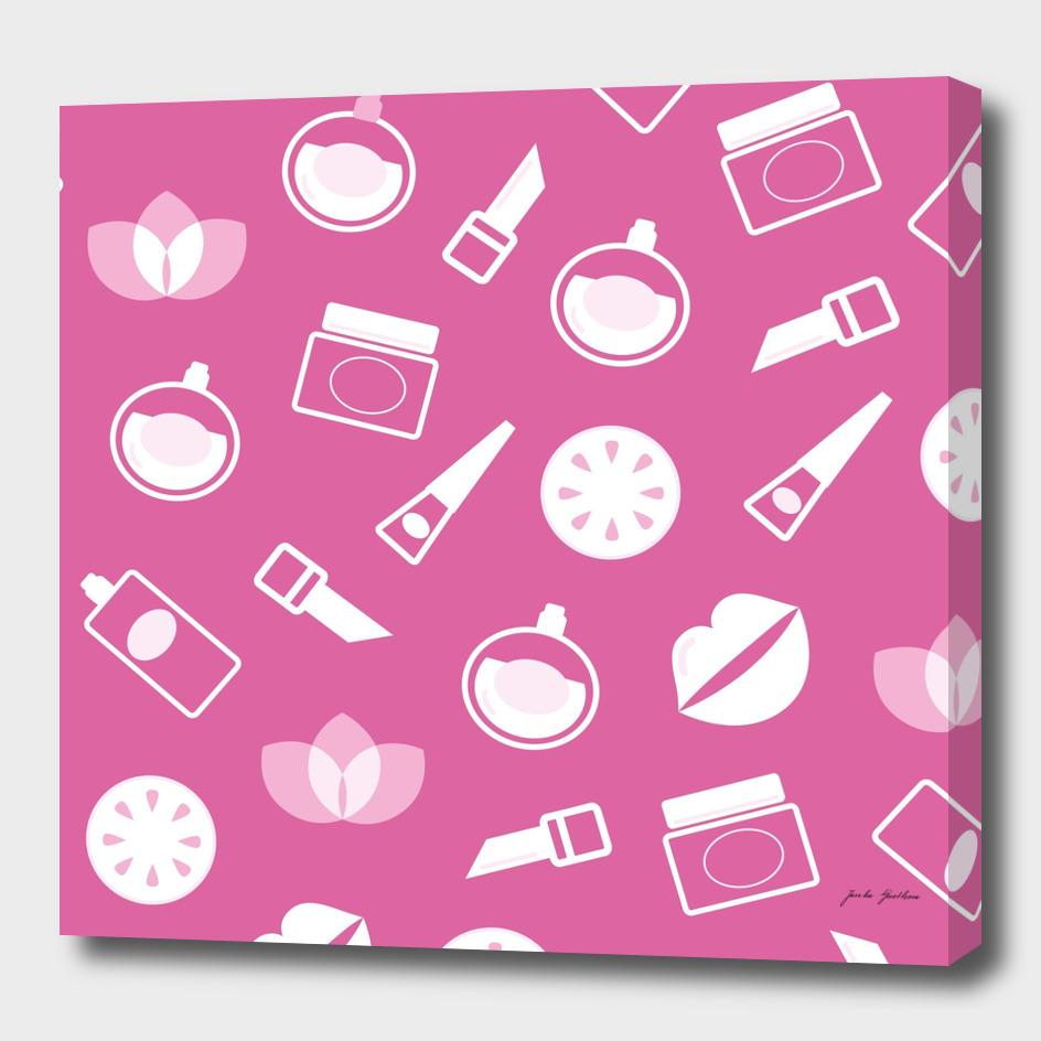 Cosmetic Original drawing : pink