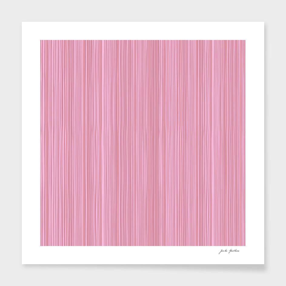 Pink wood decor : Original stylish art