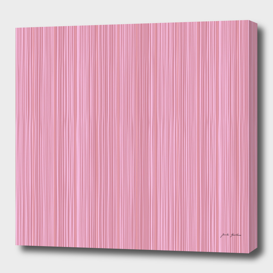 Pink wood decor : Original stylish art