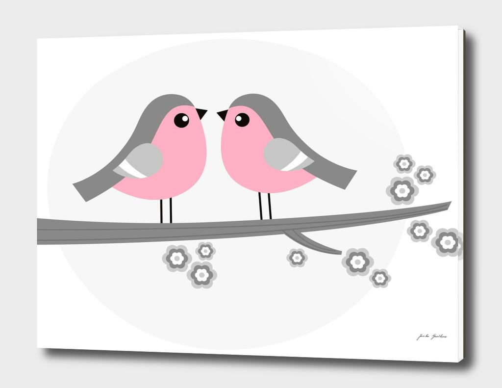 2 Love birds : spring edition