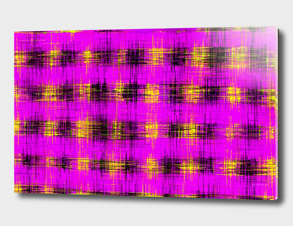 pink yellow and black painting texture abstract background