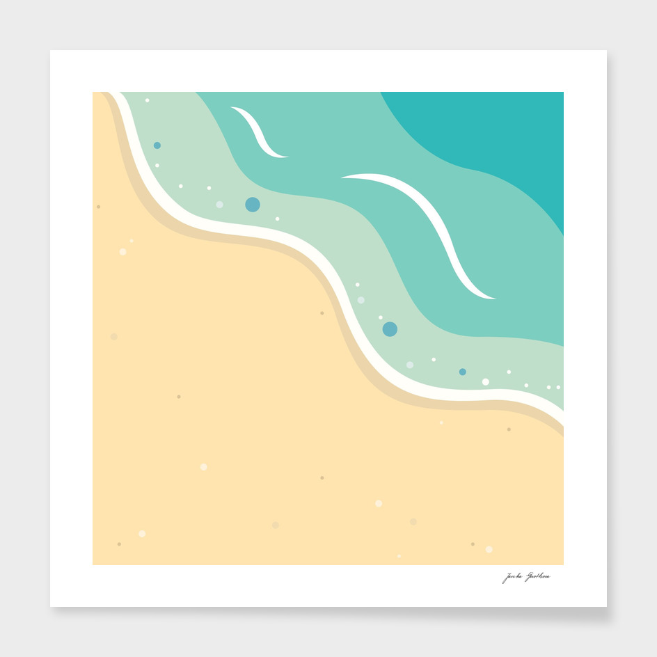 New seaside artwork : Exotic vacation