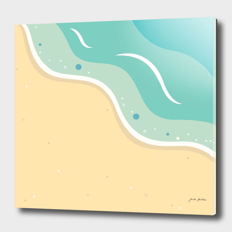 New seaside artwork : Exotic vacation
