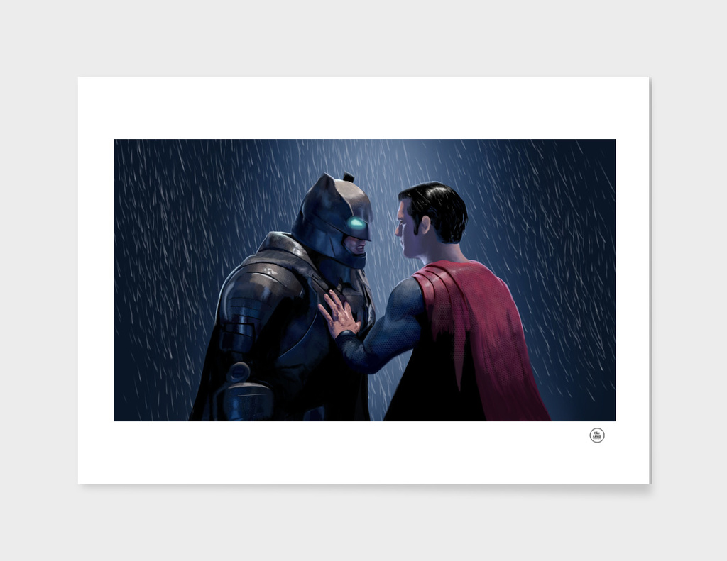 ''Do you Bleed ?'' - A Batman Vs. Superman Fanart