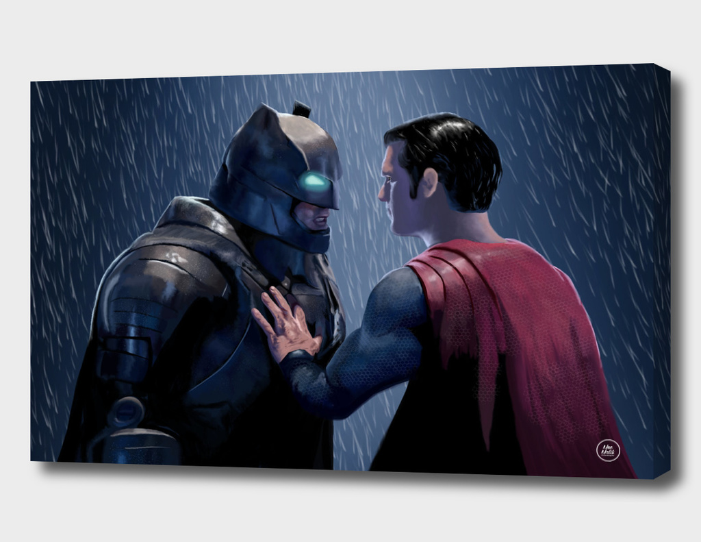 ''Do you Bleed ?'' - A Batman Vs. Superman Fanart