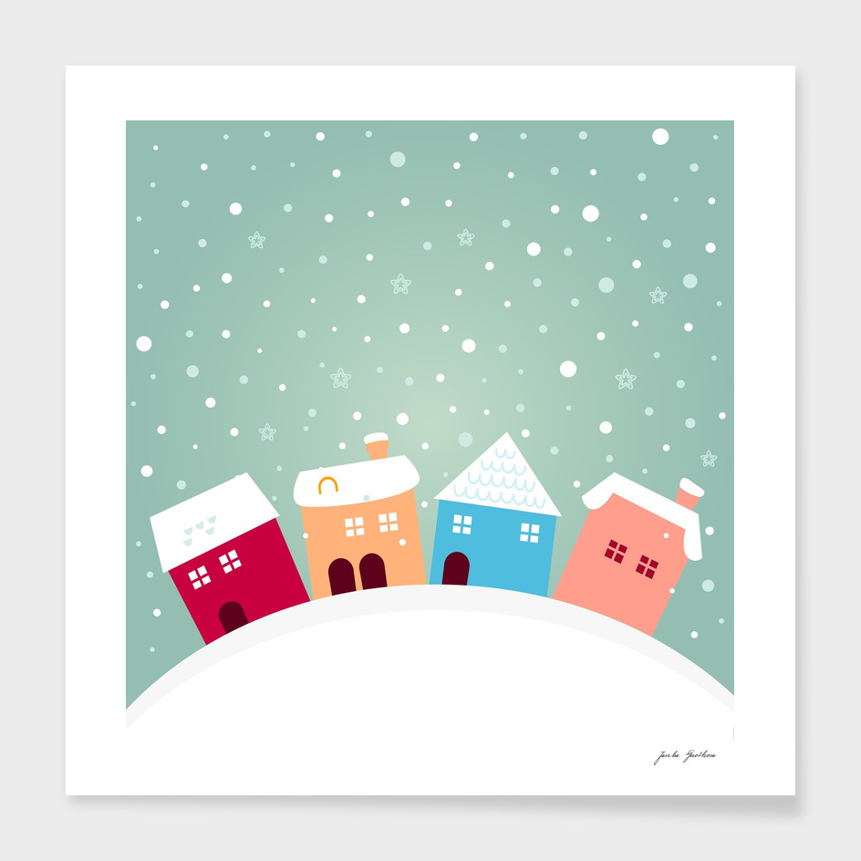 Designers FOLK homes : with snow