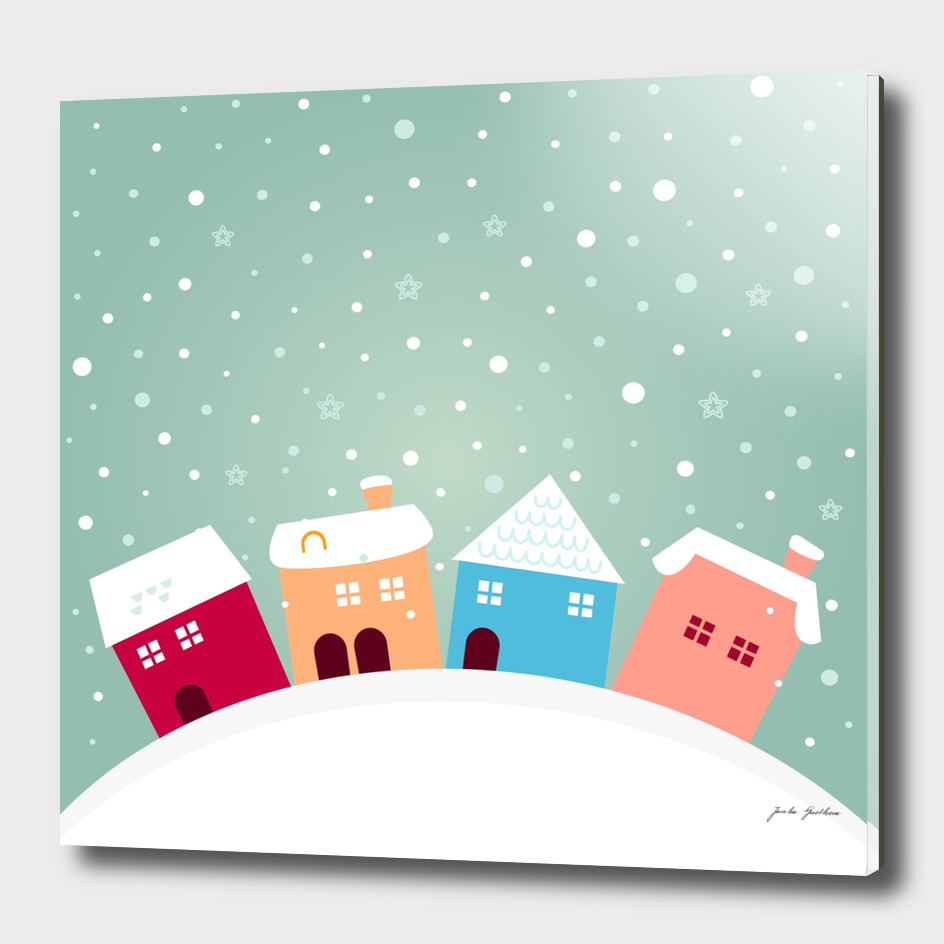 Designers FOLK homes : with snow