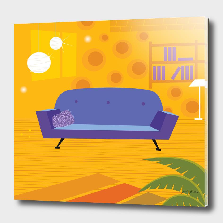 Living room collection : vintage artwork
