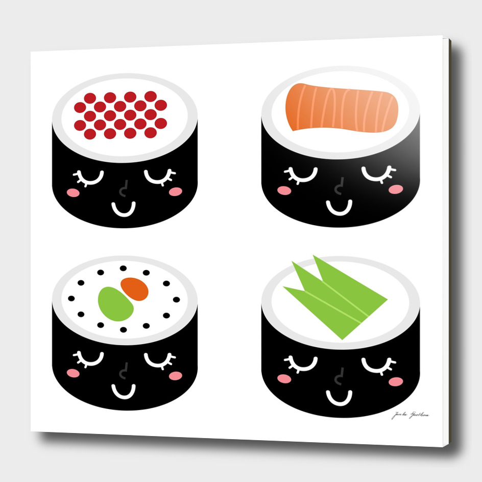 New happy sushi characters : New in shop