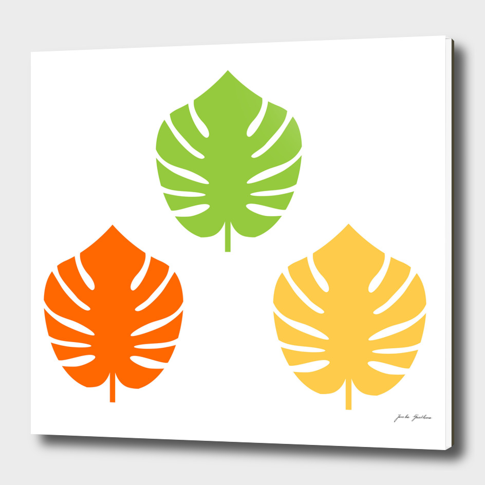 Designers EXOTIC Leaves : Vintage collection