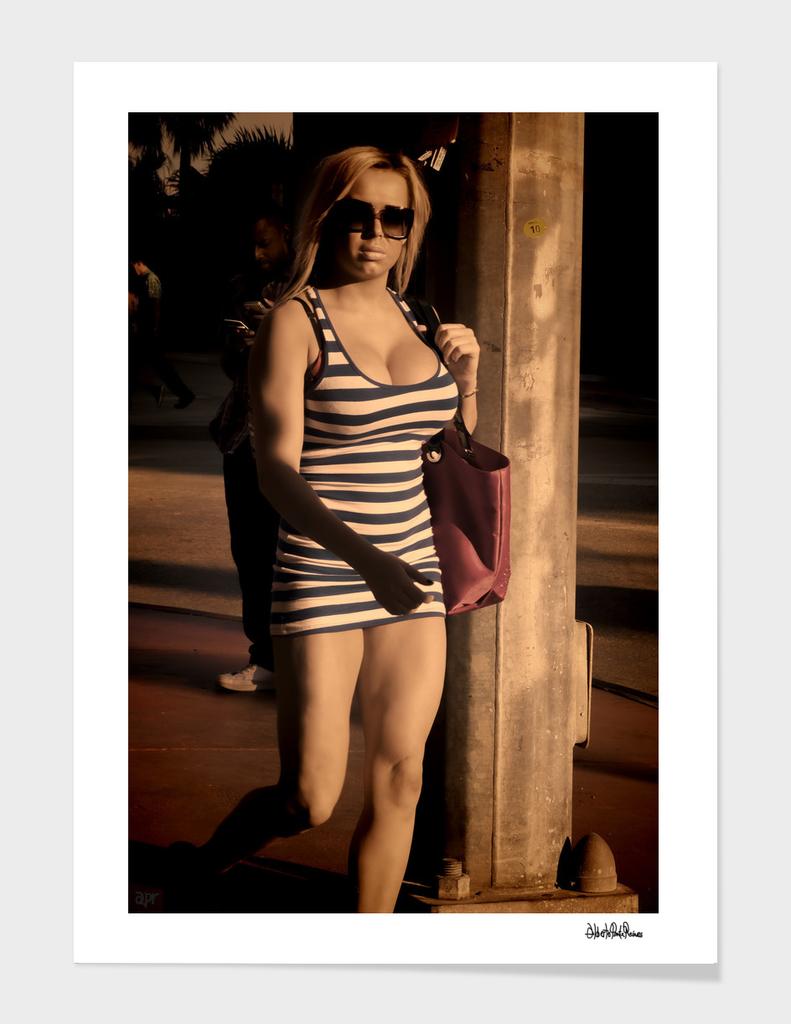 South beach, Miami girl