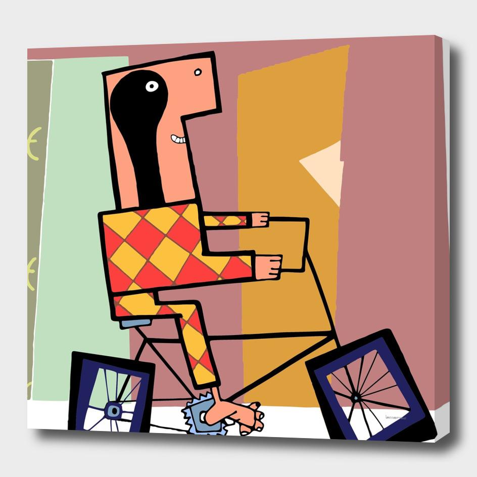 cubist biking